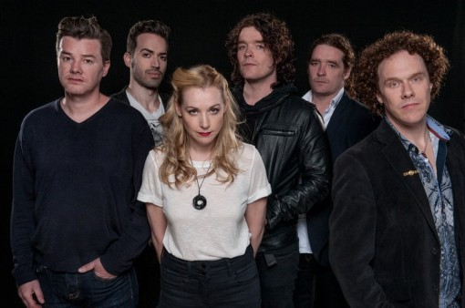 Anathema press session © Scarlet Page