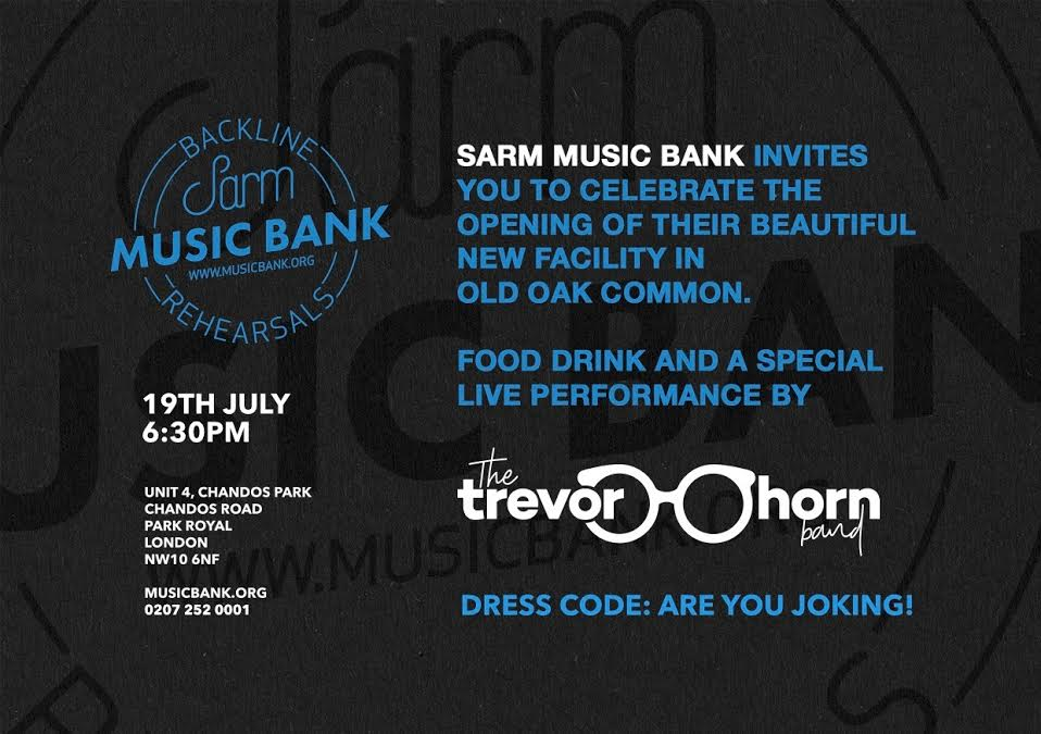 Sarm Music Band invite